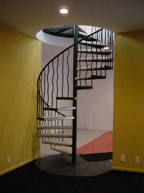 Our first spiral staircase many years ago still brings a smile to my face as the design was beautiful in this home with many rounded walls and other unique features.