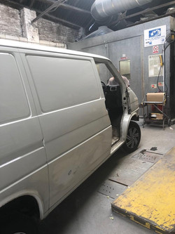 VW Transporter Prep