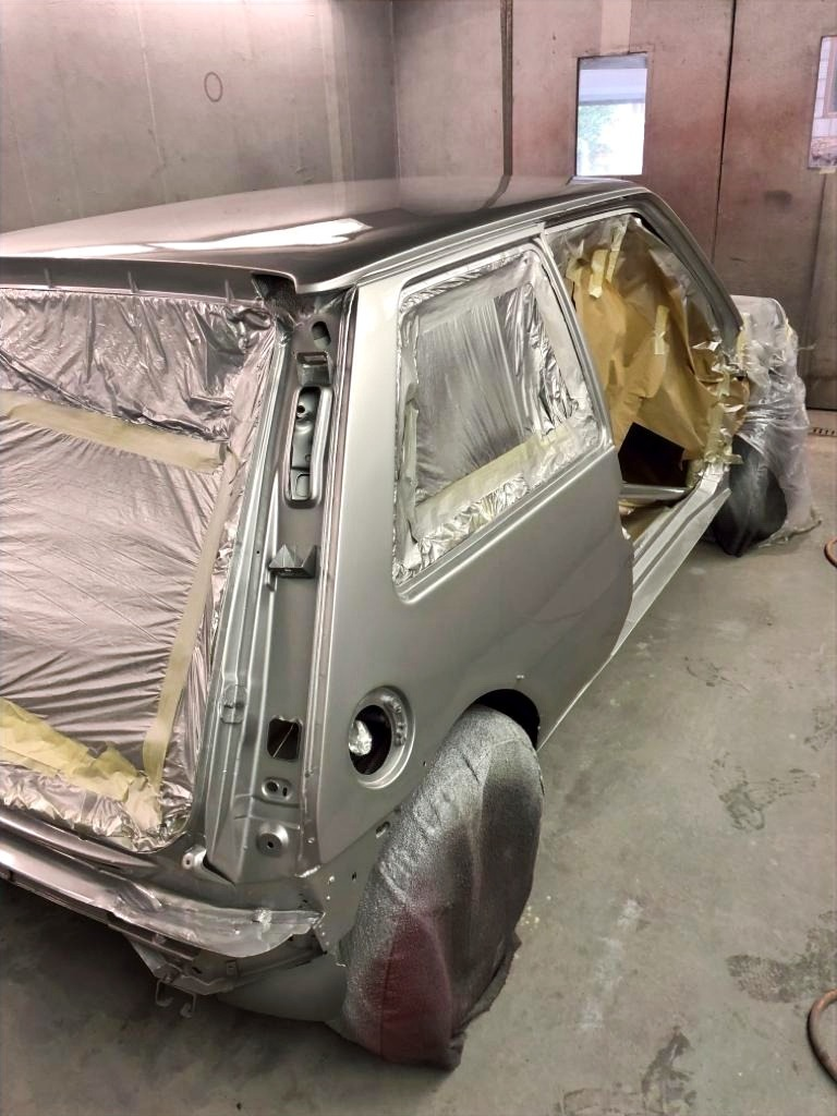 Renault 5 GT Turbo Refurbishment