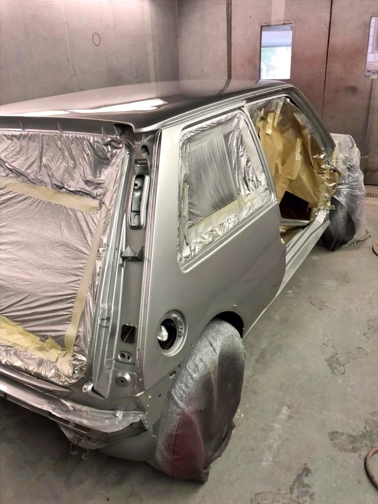 Renault 5 GT Turbo 1988 Refurbishment