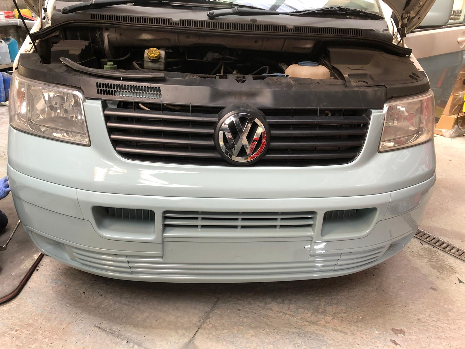 Two Tone VW Transporter Respray