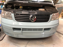 Two Tone VW Transporter Respray