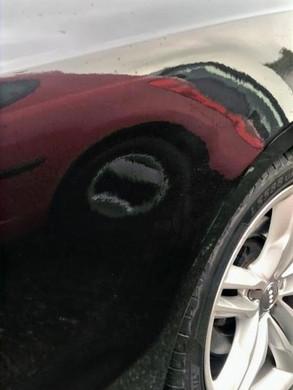 Audi Rear Repair & Repaint