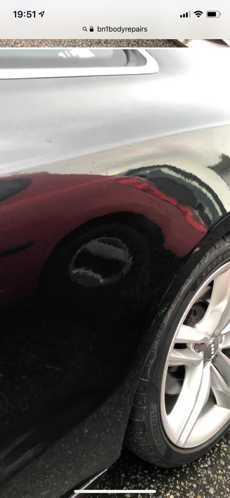 Audi A5 Rear Repair & Repaint (1)
