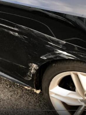 Audi A5 Rear Repair & Repaint