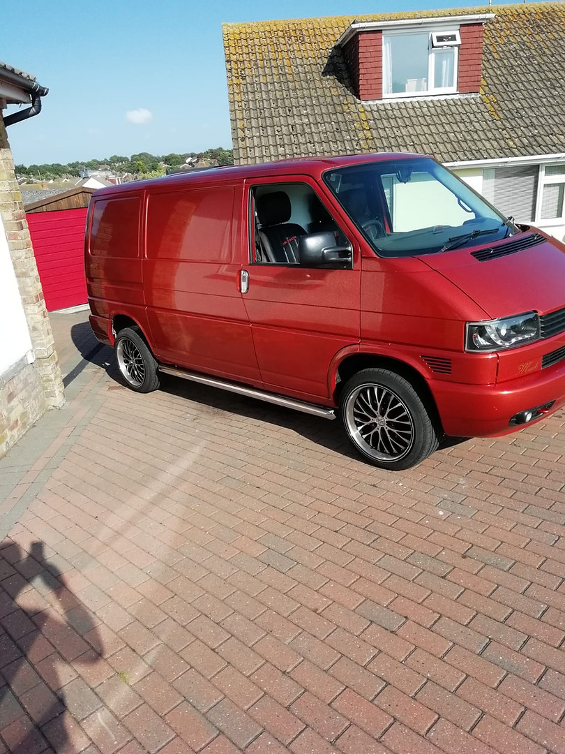 Finished VW Transporter