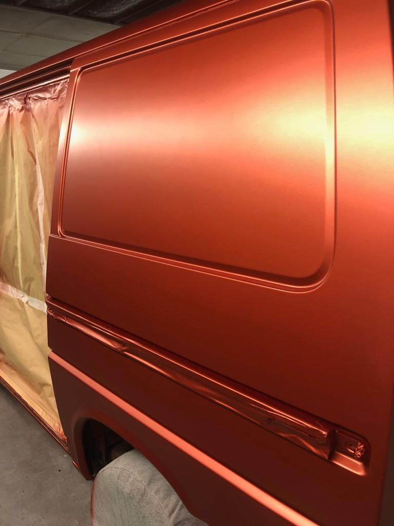 VW Transporter Respray