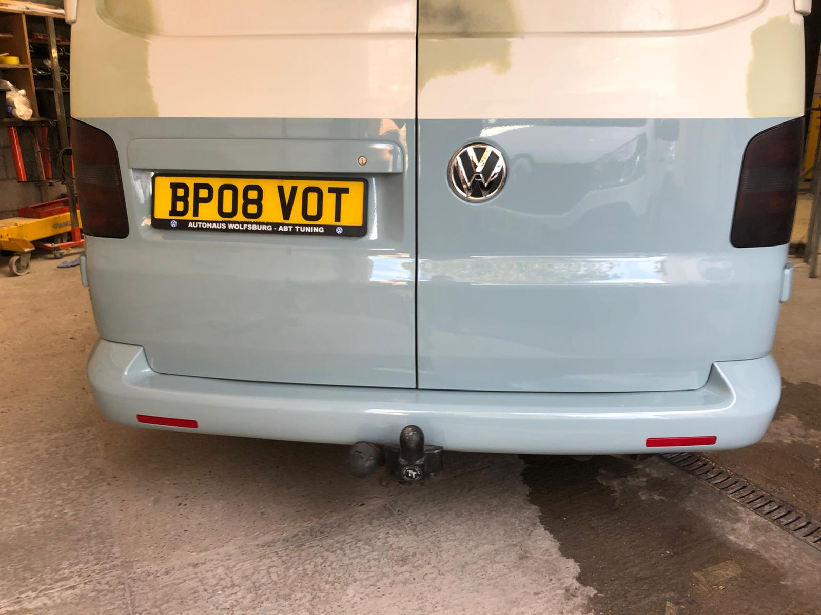 Respray of a VW Transporter using Two To