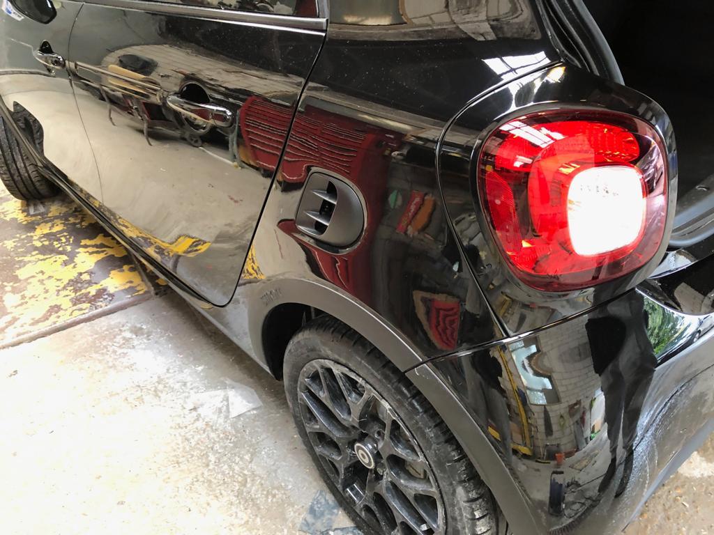 Repair and Repaint Rear Bumper