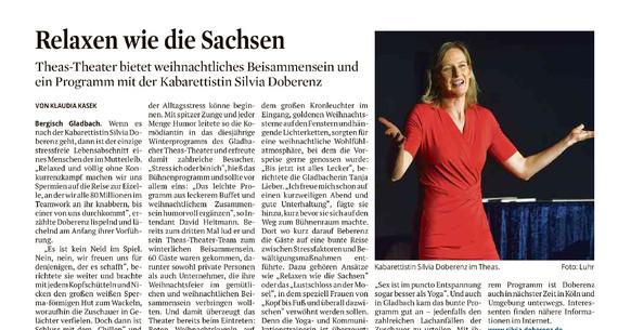 Kölner Stadtanzeiger 14.12.2018