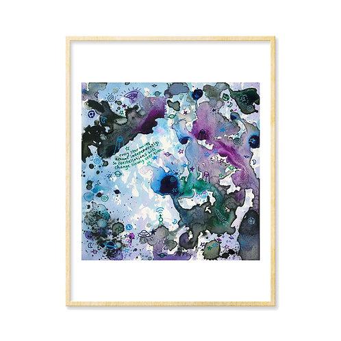 Lavender Spaceland I - Print
