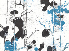 Black & Blue Forest III