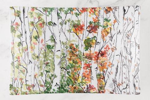 Birch Forest, Four Seasons - Trinket Tray