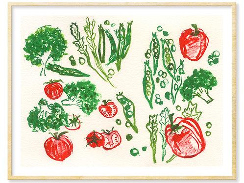 Veggies 1 - Print