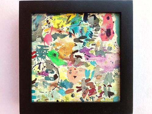 Torn Corner 1 - Original Painting (framed)