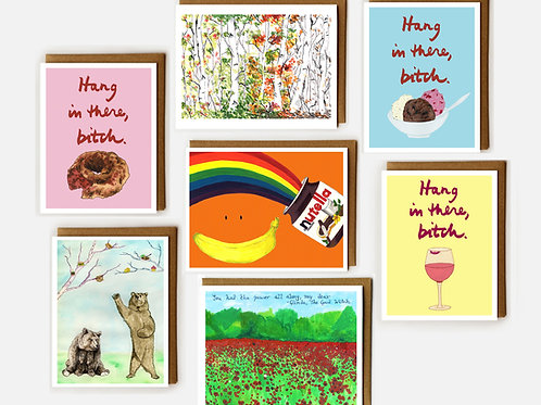 Boxed Set of Any 6 Cards