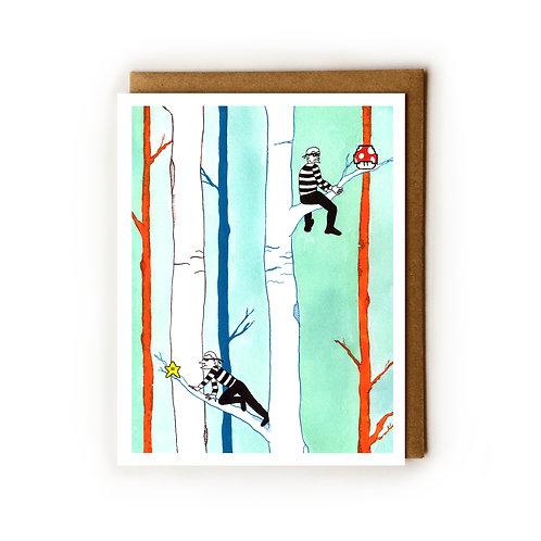 Super Burglar Bros. - Blank Card