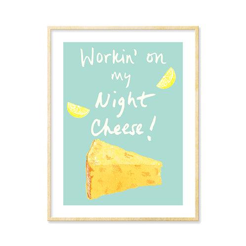Liz Lemon's Night Cheese - Print