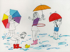 Rainy Day Puddle Party