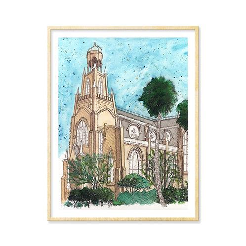 Temple Mickve Israel (Savannah, GA) - Print