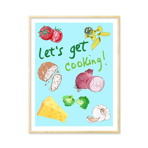 Let's get cooking! - Print