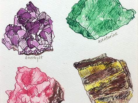 Crystals study