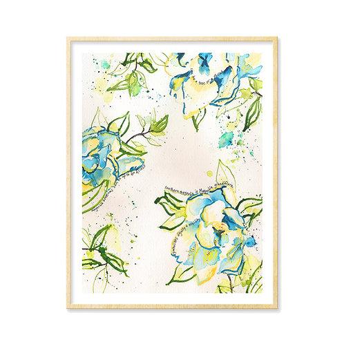 Savannah Magnolias - Print