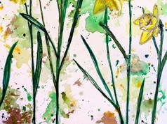 Gerard De Nerval (daffodils)