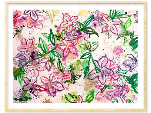 Christina Rossetti (azaleas) - Print