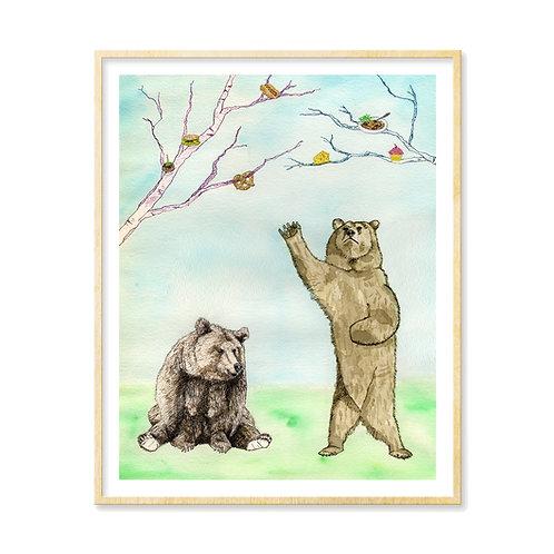 Hungry Hungry Bears - Print