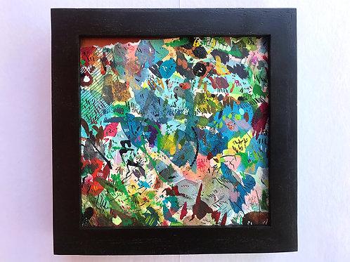Torn Corner 2 - Original Painting (framed)