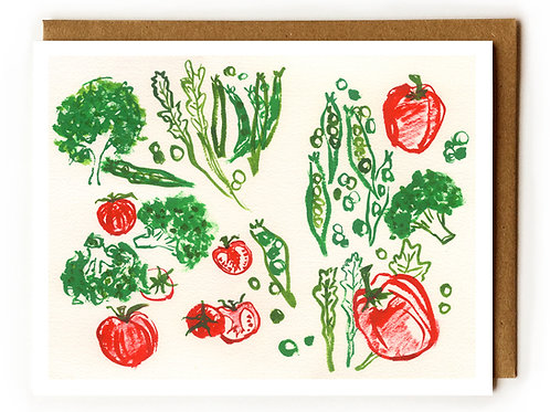 Veggies 1 - Blank Card