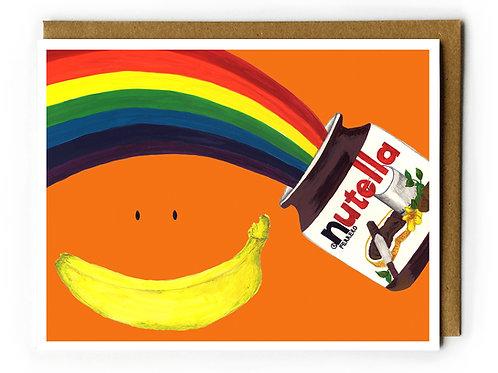 Happy Nutella Day! - Blank Card