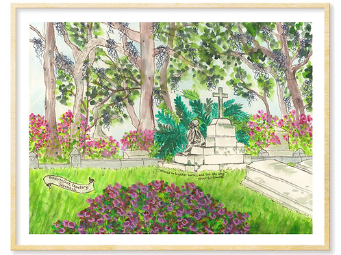 Bonaventure Cemetery, Corinne Lawton - Print