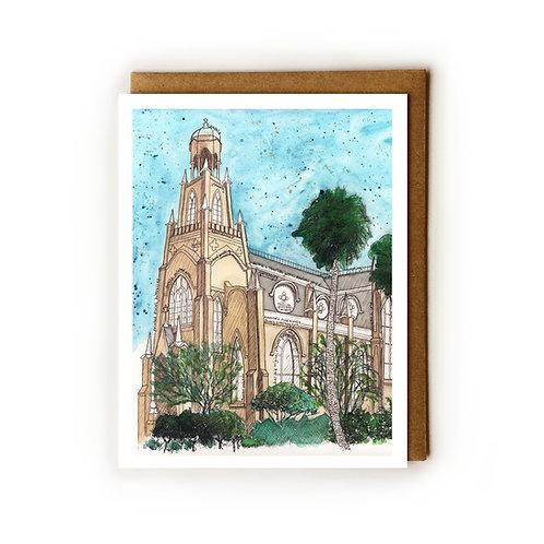 Temple Mickve Israel (Savannah, GA) - Blank Card