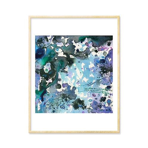 Lavender Spaceland II - Print