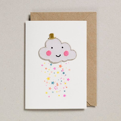 Petra Boase Iron on Cloud Card