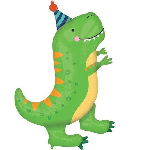 "Dinosaur Foil Balloon 34"""
