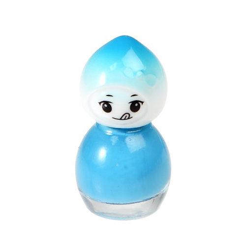 Suki and Friends Water Based Blue Nail Polish