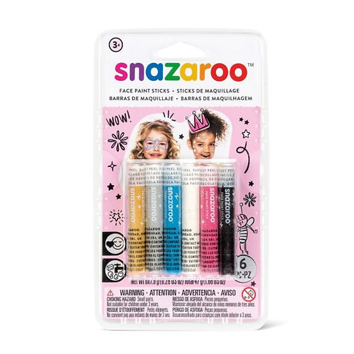 Snazaroo Fantasy Face Painting Sticks