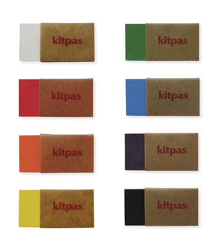 Kitpas 8 Block Crayons