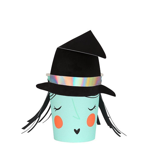 Halloween Witch Cup