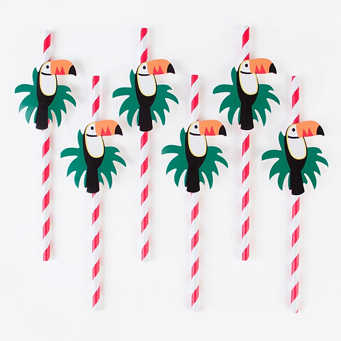 My Little Day Toucan Straws