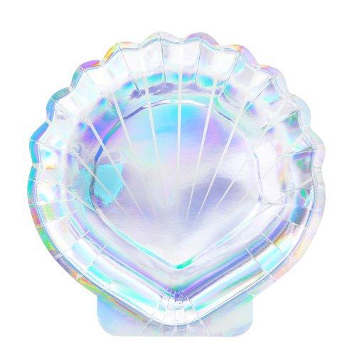 Iridescent Seashell Plate