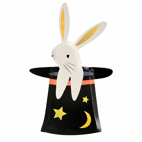 Bunny in a Hat Shaped Plates