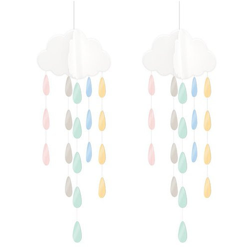 Hanging Clouds and Droplets