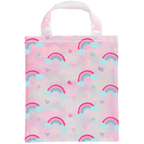 Iridescent Rainbow Fabric Gift Bag