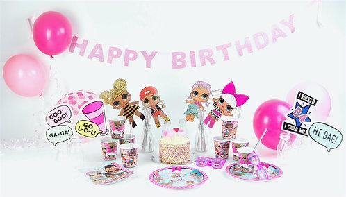 LOL Surprise Party Decorations