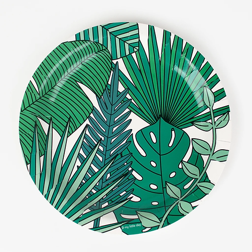 My Little Day Tropical Plates