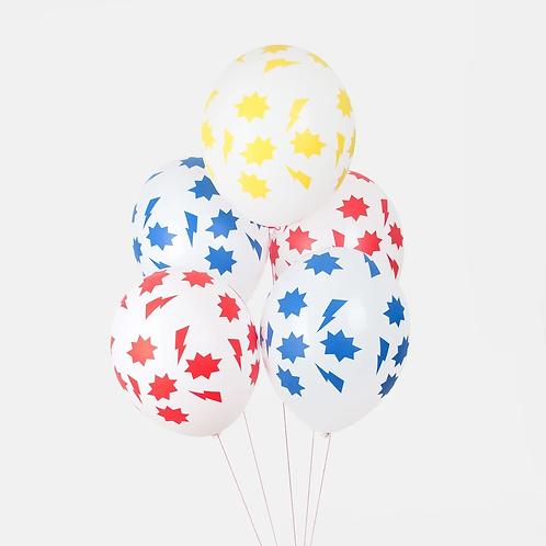 My Little Day Superhero Balloons